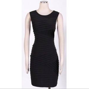 Calvin Klein Black Matte Jersey Dress l Size 10